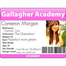 Cammie morgan id badge by izzy rules the world