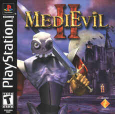 MediEvil II - Front Cover NTSC