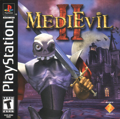 File:MediEvil II - Front Cover NTSC.jpg