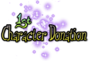 1st Character Donation