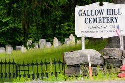 Gallows Hill Cemetery x