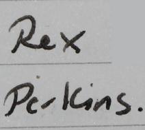 Rex perkins