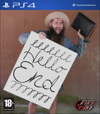 Hello End Cover