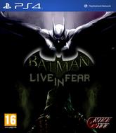 Batman Live in Fear Cover Art