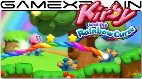 Kirby and the Rainbow Curse - First Level, World 1-1 Gameplay (1080p 60fps Wii U)
