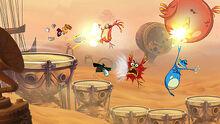Rayman Origins gameplay screenshot