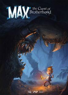 Max, The Curse of Brotherhood box art