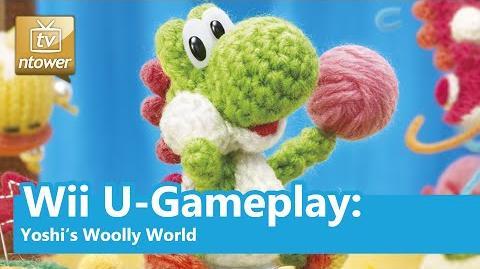 Wii U-Gameplay- Yoshi's Woolly World