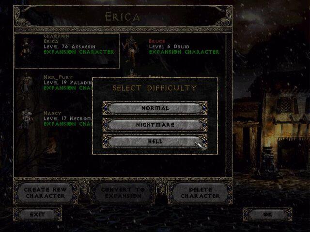 File:Diablo 2 difficulty options.jpg