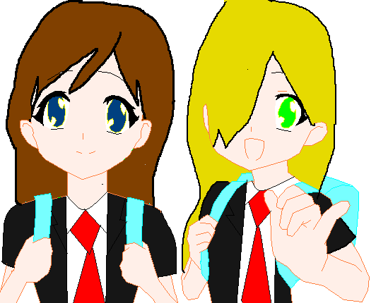 File:Leona and Chrissy as a 13.png