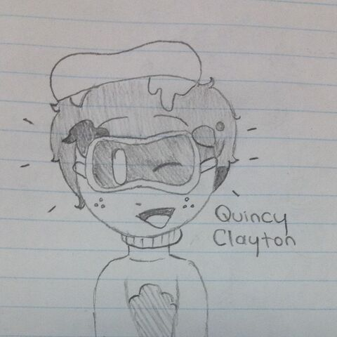 A general basic for Quincy I drew on scrap paper.