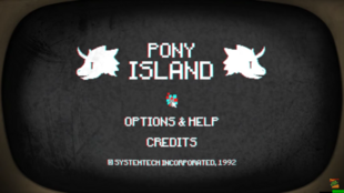 Lucifer's Pony Island