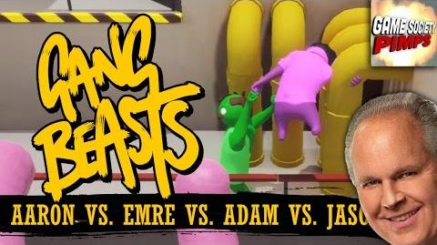 Gang Beasts - Sausage Party (With ALL the GameSocietyPimps)