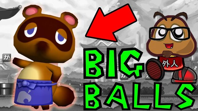 File:Animal Crossing New Leaf has some BALLS!.jpg