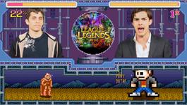 LoL vs. DOTA screen