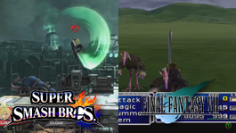 Final Fantasy's CLOUD screen