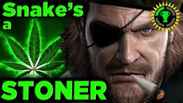 Snake is a STONER