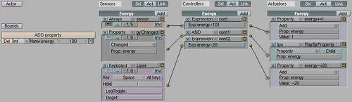 HealthBar EnergyLogic
