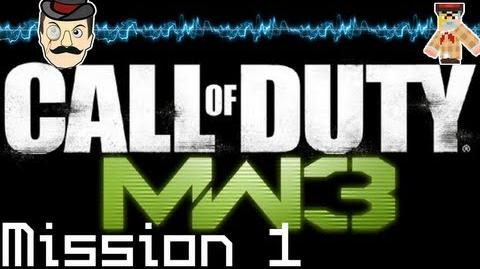 Modern Warfare 3 Playthrough Mission 1