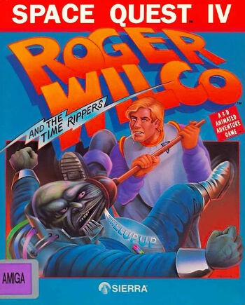 SpaceQuestIVRogerWilcoandTheTimeRippersCover