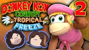 Donkey Kong Country Tropical Freeze Part 2 - Crazy Ducks