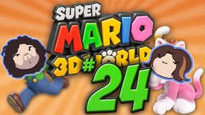 Super Mario 3D World Part 24 - Masters of Disaster
