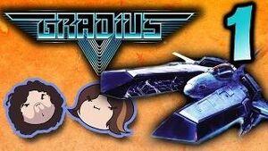 Gradius V Part 1 - Metal Cheerios