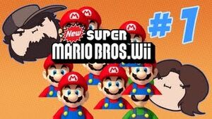 New Super Mario Bros Wii 1