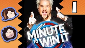 Minute to Win It Part 1 - Wiggle The Thing