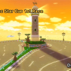 Leaf Cup 3rd Race: Wii Daisy Circuit