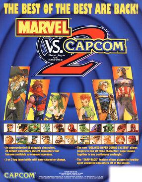 Marvel vs Capcom 2 New Age of Heroes US Flyer