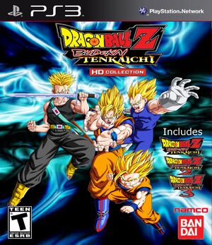 Dragon ball z budoka tenkaichii hd collection box art