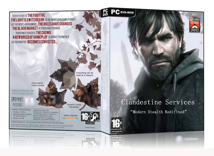 Clandestine Servicesboxart