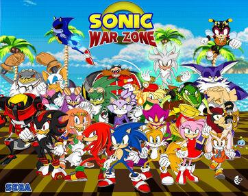 Sonic War Zone by xamoel
