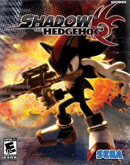 Shadow the Hedgehog Coverart