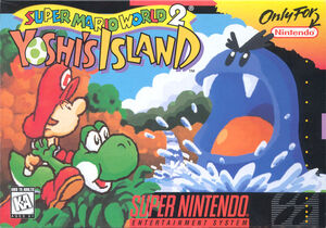 Super mario world 2 yoshi s island snes