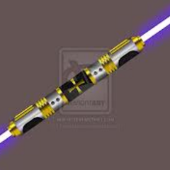Starkiller's Double sided lightsaber, which he got in Utapua.