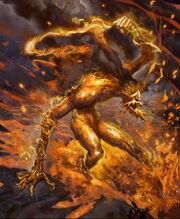 Fire Elemental (Poxnora)