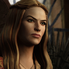 Cersei as she appears in the <a href=