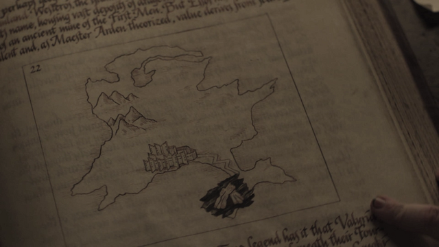 File:701 Samwell book Dragonstone map.png