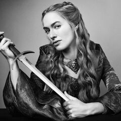 TV Guide photoshoot of Cersei in Season 3.