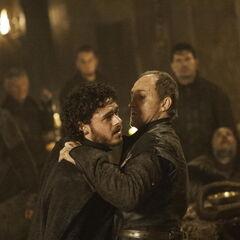 Robb Stark is killed by Roose Bolton in