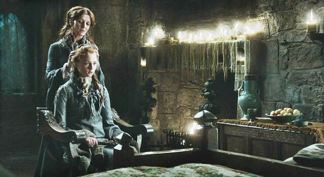 File:Winter is Coming Sansa and Cat.jpg