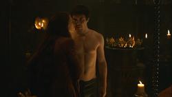 Melisandre seducing gendry