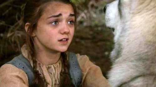 File:Nymeria-and-Arya-Stark-game-of-thrones-direwolves-26320407-498-280.jpg