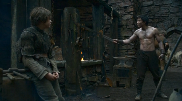 File:Arya and Gendry 2x05.png