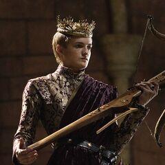 Joffrey wielding his crossbow in