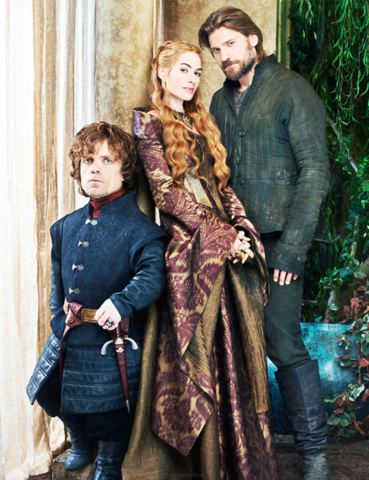 File:Promo image of Tyrion Cersei Jaime.png