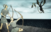Rhoynar shoot down dragons