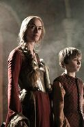 Cersei and Tommen Blackwater Promo